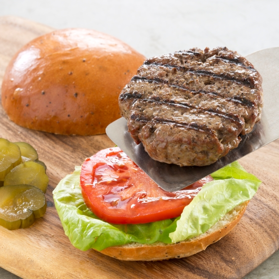 Perfect Grilled Hamburger